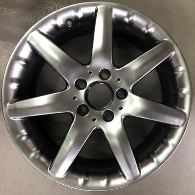 【益和輪胎】5孔112 Mercedes-Benz W203 原廠17吋鋁圈 W203 W204 W209 W210