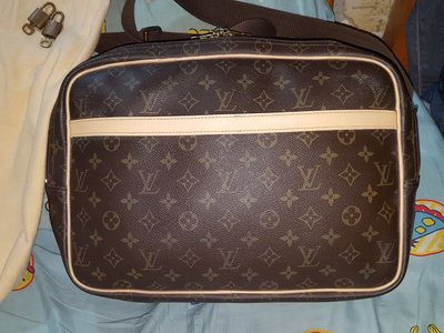 Louis Vuitton LV Reporter Monogram GM 經典老花 雙層斜背包 55501 66501 0066 0188 0184 LVC