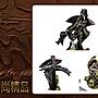 【絕版藝術精品】 西方魔神  藝術刀組(38x22x15 CM) ~ 全新品;現貨特惠價喔! ~