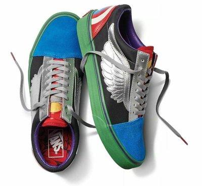 Vans Off The Wall X Marvel 美國隊長 鋼鐵人 限量 聯名款 鞋 美國直寄