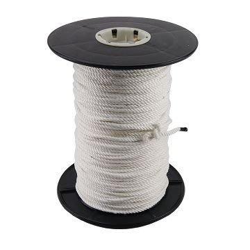 【TRENY直營】台灣製造 特多尼龍繩1分半白色1尺(660尺/捲) PE繩 尼龍繩 安全 居家 繩子 3319