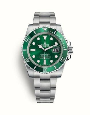 【已交流】ROLEX 勞力士 綠水鬼 116610LV  綠色面盤