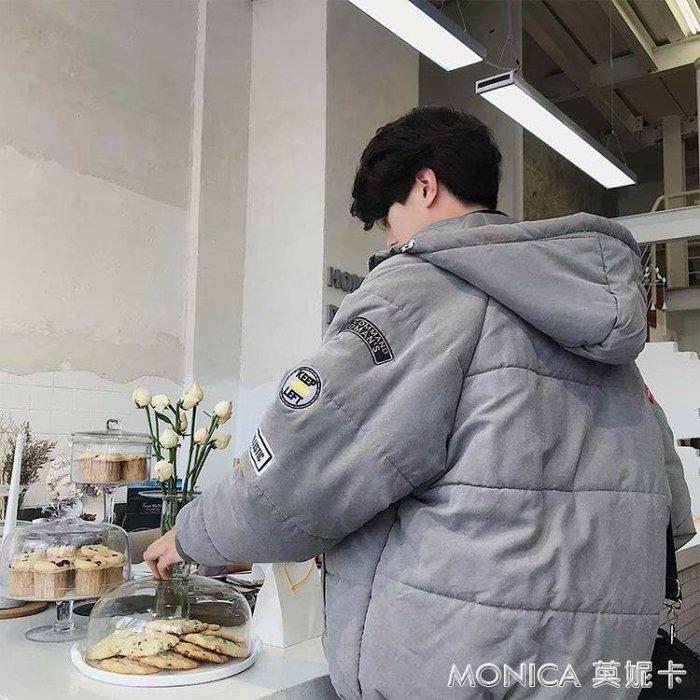 冬季外套男bf原宿風棉襖加厚韓版潮流面包服學生短棉衣男