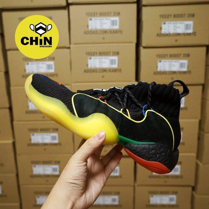 ☆CHIN代購☆ADIDAS PHARRELL CRAZY BYW LVL X 菲董 彩虹 籃球鞋 G27805 現貨
