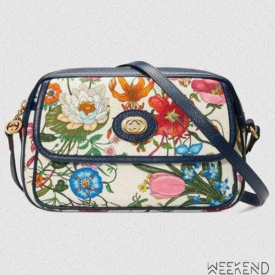 【WEEKEND】 GUCCI Small Flora 花朵 小款 肩背包 550147