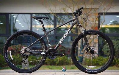 山地車自行車剎車捷安特ATX860全新27.5寸30速油碟剎山地自行車款男女成人健身