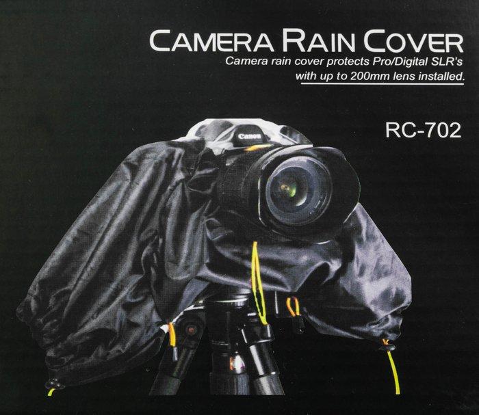 呈現攝影-SAMARK 相機雨衣透明長版 單眼相機雨衣 防風 防雨罩 防沙塵 廣角至望遠 小白 小黑六