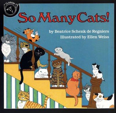 *小貝比的家*SO MANY CATS! /平裝書/3~6歲/數字/汪培珽英文書單--第一階