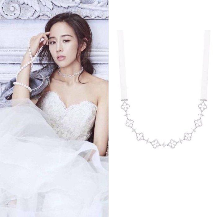 💎1107、(預購)哥德蕾絲系列 珠寶玫瑰窗鎖骨鍊項鍊💎正韓 飾品 空運 珠寶 耳環