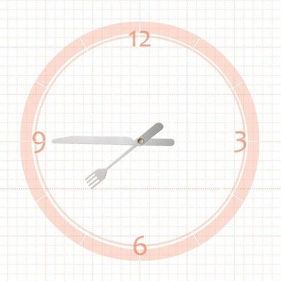 【鐘點站】T090072S SUN壓針機芯 / 分針9公分 時針7.2公分 / DIY 時鐘 掛鐘 鐘針 刀叉式