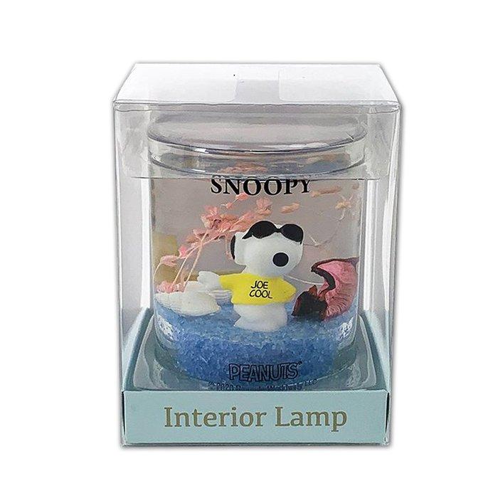 室內裝飾電燈 S 史努比 擺飾 夜燈 LED 日本進口正版授權