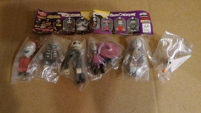 絕版收藏 正版 Yujin Disney 迪士尼 轉蛋 聖誕夜驚魂 積木 全6種 現貨~