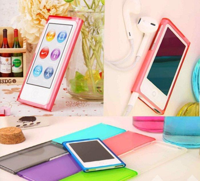 *蝶飛*Apple iPod Nano 7代 TPU 軟殼 iPod Nano 8 保護殼 保護套 清水套 清水殼