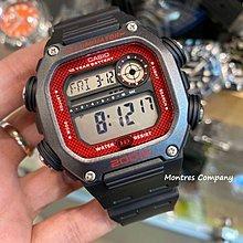 Montres Company香港註冊26年老店 卡西歐 CASIO 運動風 方形錶殼 防水 DW-291H-1B三隻色有現貨