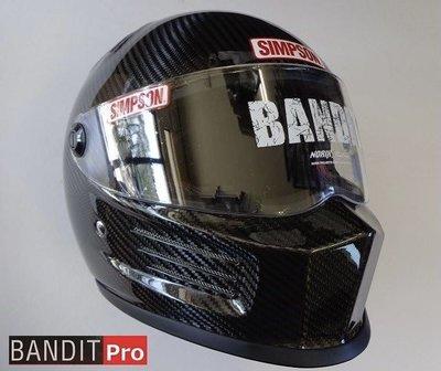 Mini 精品 辛普森 Simpson Bandit Pro Carbon 碳纖維 卡夢 Norix 日版 安全帽 全罩 免運 Bell Shoei 參考