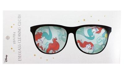 【卡漫迷】 小美人魚 拭淨布 ㊣版 鏡頭 手機 螢幕 擦拭布 眼鏡布 拭鏡布 擦拭布 Mermaid 愛麗兒 Ariel