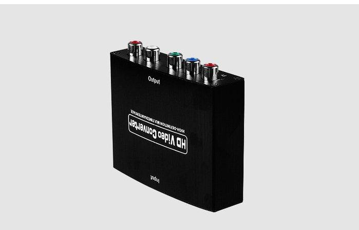 [哈GAME族]全新 維發現 HDMI轉色差 訊號轉換器 HDMI 轉 YPbPr 視訊轉換器 轉換器