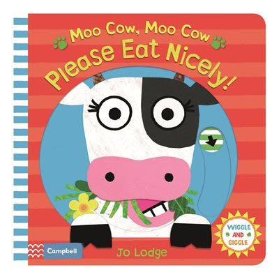 *小貝比的家*MOO COW, MOO COW PLEASE EAT NICELY !/硬頁/3-4歲小班/操作書