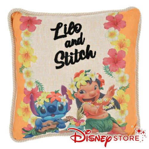 41+現貨免運費 正品.日本 迪士尼專賣店  史迪奇 莉蘿 醜丫頭 抱枕 靠枕 娃娃 玩偶 午安枕 小日尼三