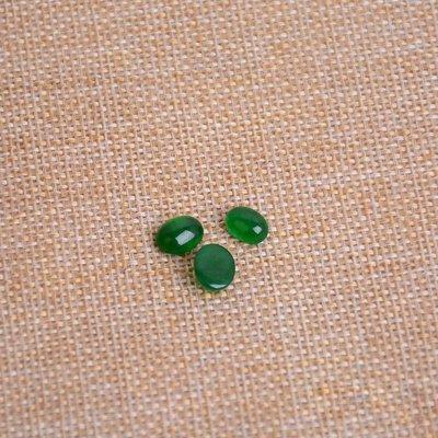 【福寶堂】翡翠戒面裸石 戒指鑲嵌 緬甸老坑蛋面 男女款戒指面