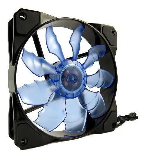 【捷修電腦。士林】KISSQUIET 12CM*12CM 液壓軸承 靜音 九葉透明 散熱風扇 $150