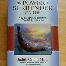 挫折調適 ~「臣服的力量」智囊卡(The Power of Surrender Cards)/「愛得思工作室」心靈牌卡