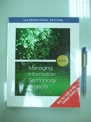 6980銤:A0-5cd☆『Managing Information Technology Projects 6/e』