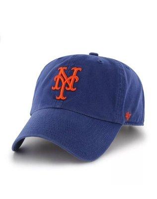 【YZY台灣】47 BRAND NEW YORK METS 大都會 老帽 復古帽 老爺帽 MLB LOGO 經典 藍色