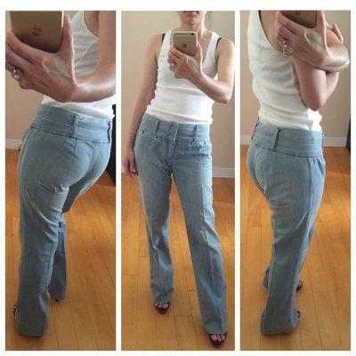 Nejma 美國製西裝丹寧褲CAPITAL TAILORS SingleNeedle Tailoring好多極緻細節