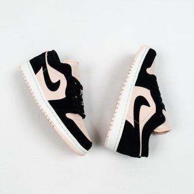 "Nike Ari Jordan 1 Low ""Guava lce"" 黑粉 運動板鞋 女鞋 DC0774-003"