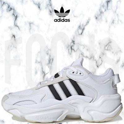 【FOCUS】全新 ADIDAS ORIGINALS MAGMUR RUNNER 白黑 焦糖底 厚底 女鞋 EE5139