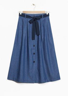 【代購】歐洲品牌 法式 牛仔裙