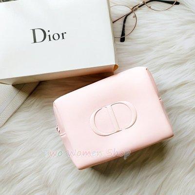 限量【迪奧】時尚粉嫩美妝包 化妝包 手拿包 收納包 萬用包 無盒裝 品牌拉鍊 專櫃最新款 贈品包 非雜誌包