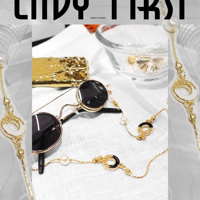 奇奇店-韓國設計秘復古風Lolita網紅眼鏡鏈條掛脖眼睛繩防滑太陽鏡掛鏈