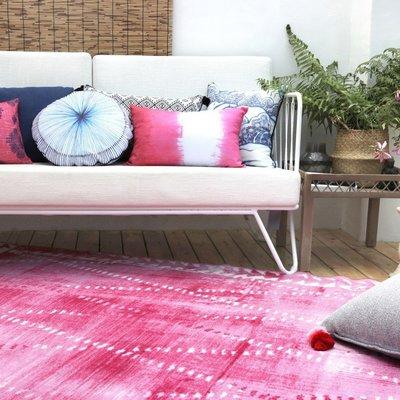 【Uluru】The Pink 140x200 條毯 地毯 客廳 臥室 Loft 北歐 工業 風 zakka 無印良品