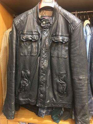 Marlboro leather goods MCS 羔羊皮 皮衣