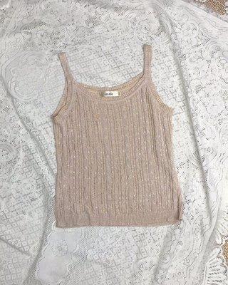 《KUDA》細肩帶美衣 整件珠飾加金蔥 秋冬美衣上架 詳閱敍述 實拍