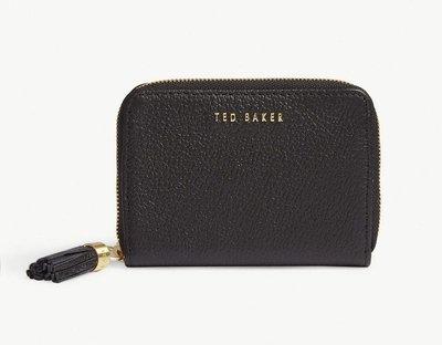 (預購)(下標前請先詢問)英國TED BAKER 經典款皮革卡夾/零錢包