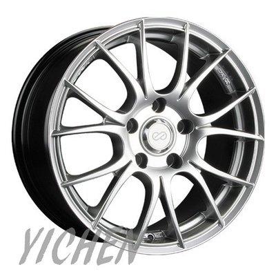 《大台北》億成汽車鋁圈量販中心-ENKEI 鋁圈 SC25 高亮銀