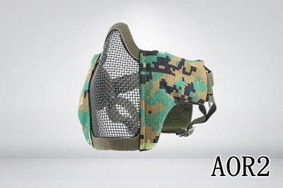 [01] CM1 武士 半罩式 AOR2 ( 護目鏡眼罩防護罩面罩面具口罩護嘴護具防彈頭套頭巾鳥嘴射擊cosplay