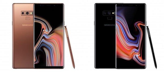 《亞屴電訊》Galaxy Note 9 雙鏡頭 6.4吋 128G B IP68 防水 黑 銅 藍 紫 現貨19900元