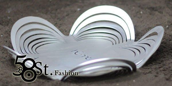 【58街】創意設計師款式「梅花盤 水果托盤,高檔鈦銀鋁材質」。AD-058