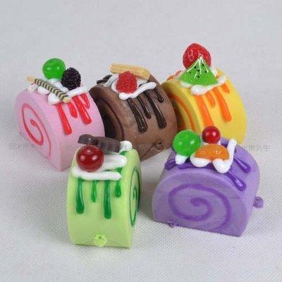[MOLD-D121]仿真麵包假水果模型 裝飾品 攝影道具 仿真瑞士卷 北海道小蛋糕