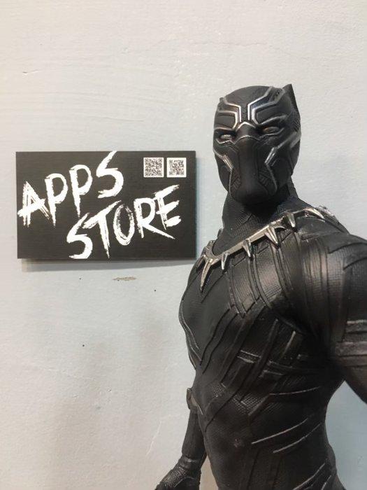 [Apps Store4]-實拍 Crazy toys 12寸 黑豹 瓦甘達 模型