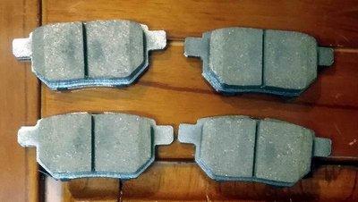 TOYOTA豐田 PRIUS 1.8 陶瓷 煞車來令片 後煞車來令