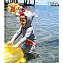 CPMAX 韓國鯊魚寶寶兒童泳衣 男女童可愛韓國連體游泳衣 寶寶造型衣 防水母 防曬泳衣 兒童泳衣 連身泳衣 M30