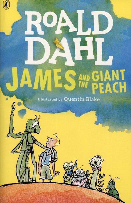 *小貝比的家*JAMES AND THE GIANT PEACH (怪桃歷險記)/平裝/12以上