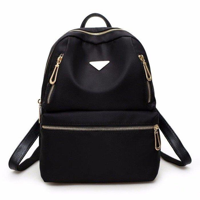 YEAHSHOP 後背包 後背包女士牛津布黑色包Y185