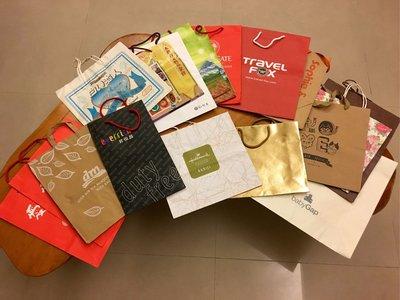 超大紙袋18個 禮品提袋 加賀屋紙袋 德國紙袋 彌月禮袋 Travel Fox Gap Hallmark 限7-11交貨便運費依情況減免