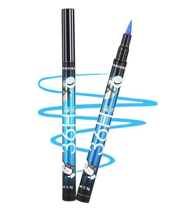 YANQINA 36H持久超濃黑防水眼線液-2.5g